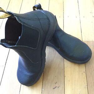 Black Blunderstone Steel Cap Boots Jamboree Heights Brisbane South West Preview