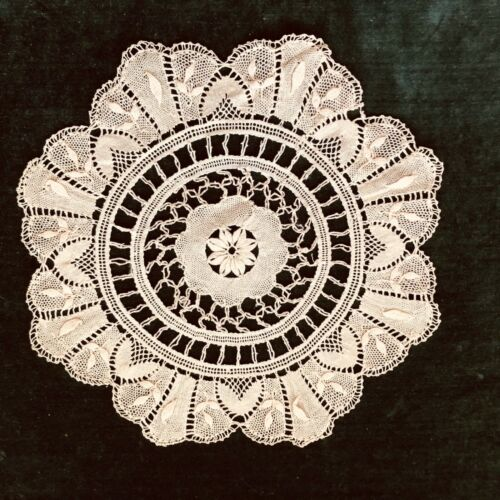 "Handmade Antique 10"" Lace Doily"