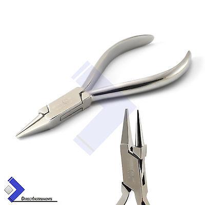 Dental Orthodontic Light Wire Bending Plier Bird Beak Angle Loop Forming Pliers