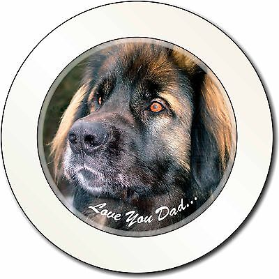 Leonberger Dog 'Love You Dad' Car/Van Permit Holder/Tax Disc Gift, DAD-68T