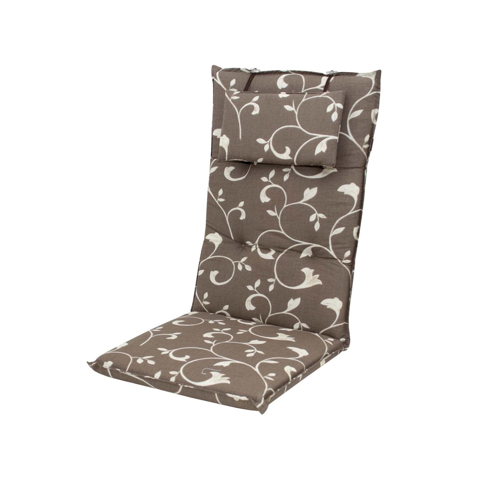 gartenm bel auflagen f r hochlehner sessel polster kissen gartenstuhl einleger ebay. Black Bedroom Furniture Sets. Home Design Ideas
