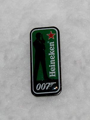 007 Heineken James Bond Skyfall Movie Costume Pendant Brooch Beer Badge Pin