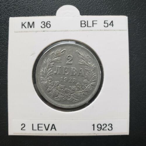 RARE, Bulgaria 1923, 2 leva nice