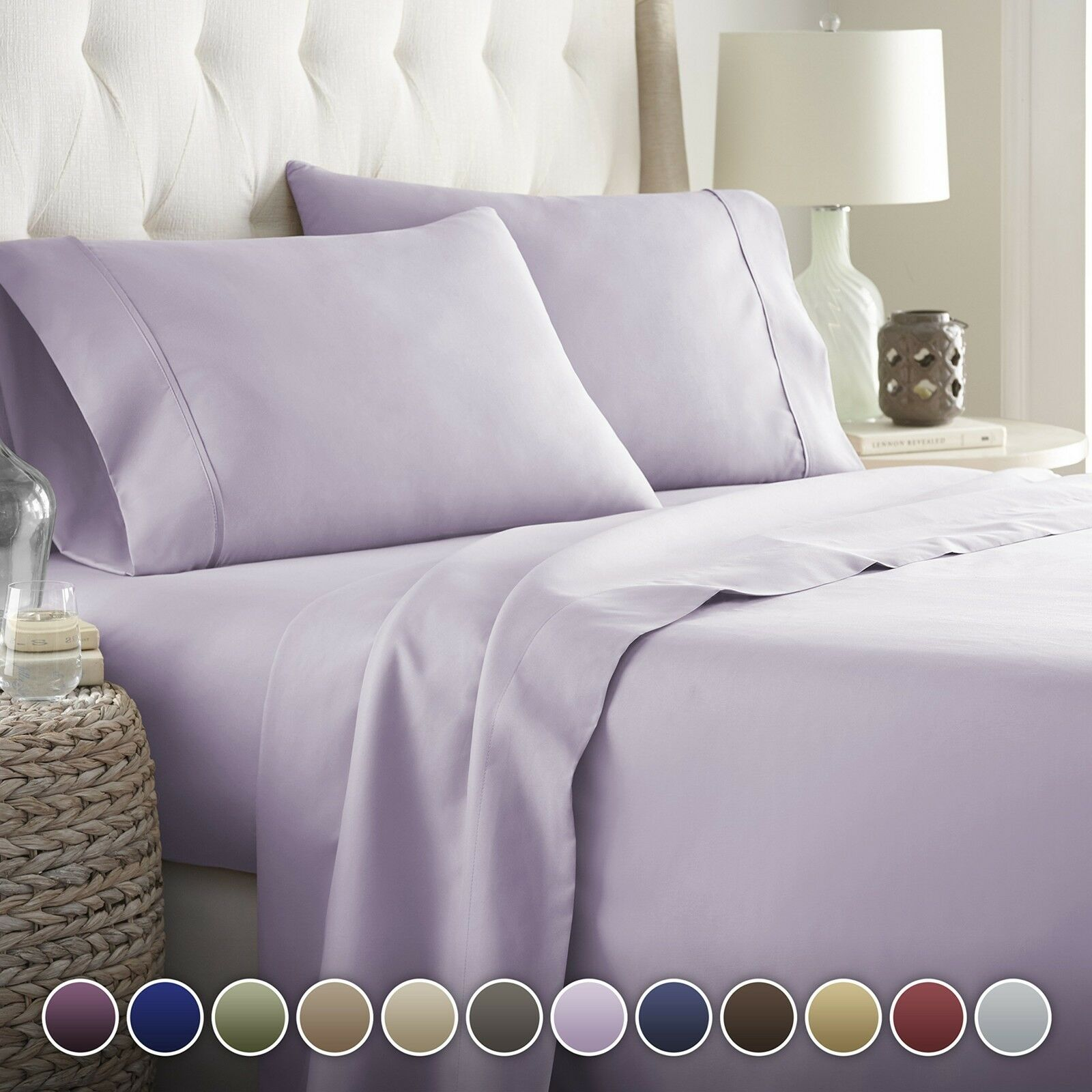 Hotel Luxury Bed Sheets Set-ON SALE TODAY! On Amazon-Top Qua