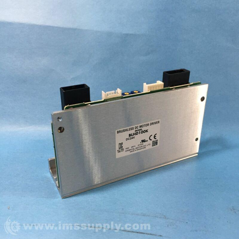 Oriental Motor BLHD100K Brushless DC Driver, 24 VDC FNIP