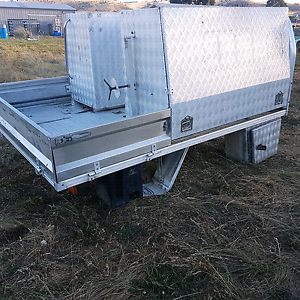 Ute tray with toolboxes / service body Brighton Brighton Area Preview