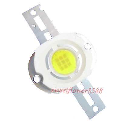 1pcs 10w White High Power 700lm Lamp Prolight Star Led