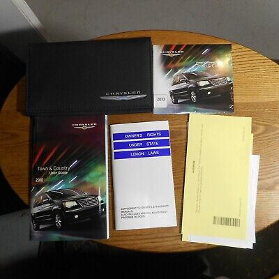 2010 Chrysler Town & Country Owners Manual w/Case (2010 Chrysler Town And Country Owners Manual)