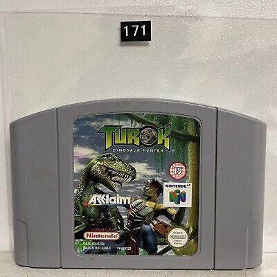 Turok Dinosaur Hunter Nintendo 64 N64 Game Cartridge PAL Oz171