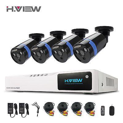 H.View ueberwachungskamera 8kanal DVR 1080N System CCTV 2.0MP Security Cameras