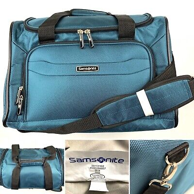 Samsonite Carry On Overnight Travel Bag with Shoulder Strap Duffel In Teal