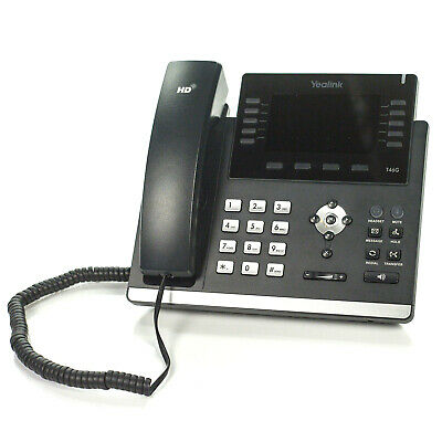 Yealink T46g 10-line Ip Voip Dual Port Gigabit Office Phone Sip-t46g - No Ac
