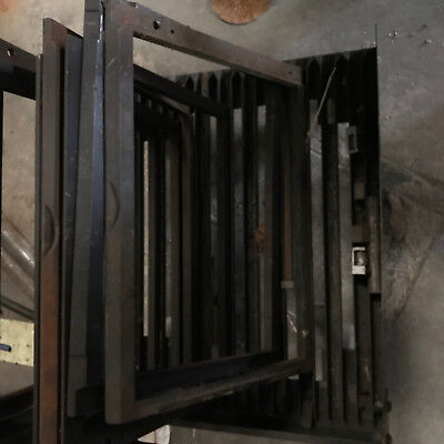 Rare Heidelberg Letterpress Chase Cart Handles All Sizes Up To 28 Inches