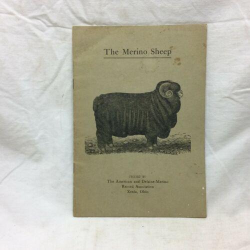 Animal Booklet The Merino Sheep Xenia Ohio Vintage