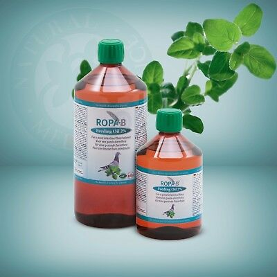 Ropa-B Feeding Oil - natural racing pigeon performance enhancer -  500ml