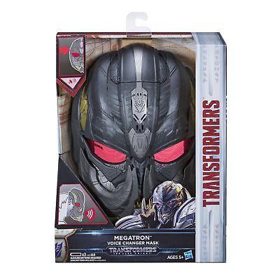 NEW Megatron Voice Changer Mask Transformers The Last Knight 2017 - Megatron Mask