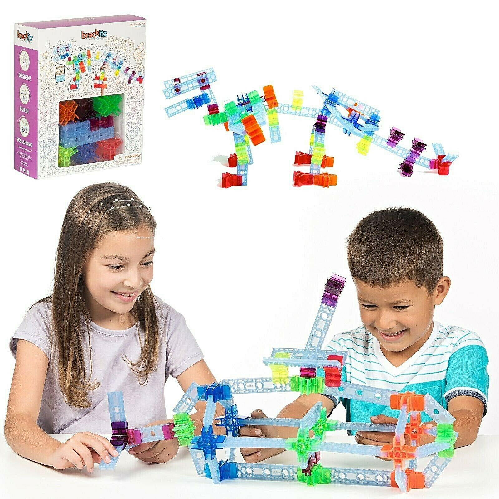 100-pc-brackitz-inventor-stem-building-toy-teaching-kids-at-home-homeschool