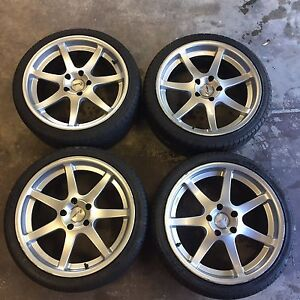 19x8.5 wheels suit Commodore VT VU VX VY VZ 5x120 Leader St Ives Ku-ring-gai Area Preview