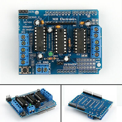 5x Motor Drive Shield Expansion Board L293d For Arduino Mega Uno Due M21 New Ue