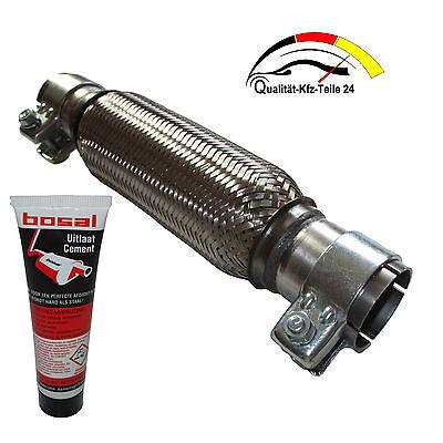 Flexrohr Hosenrohr Katalysator Flex Montage ohne Schweißen 50 x 150 x 250 mm