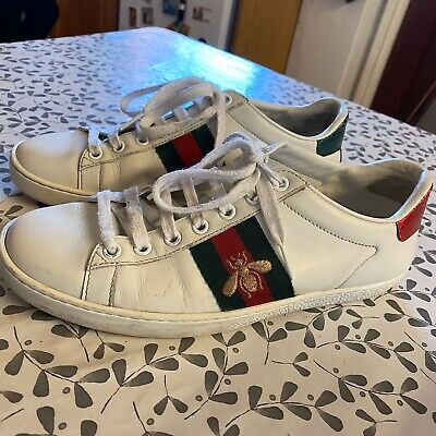 Gucci Ace Bee Trainers Sneakers (worn) Size UK 5/5.5 RRP £445