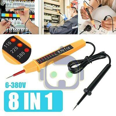 Electric Acdc Voltage Detector Pen Tester 6-380v Pocket-sized