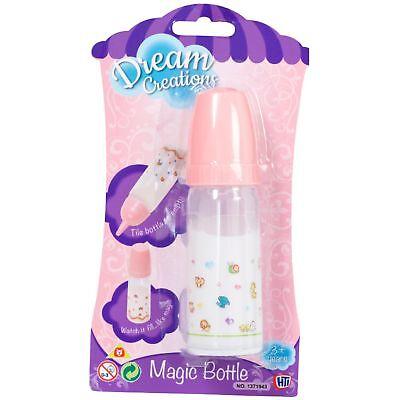 Magic Dolls Milk Bottle My Baby Doll Feeding Accessories Fake Formula Drink Gift
