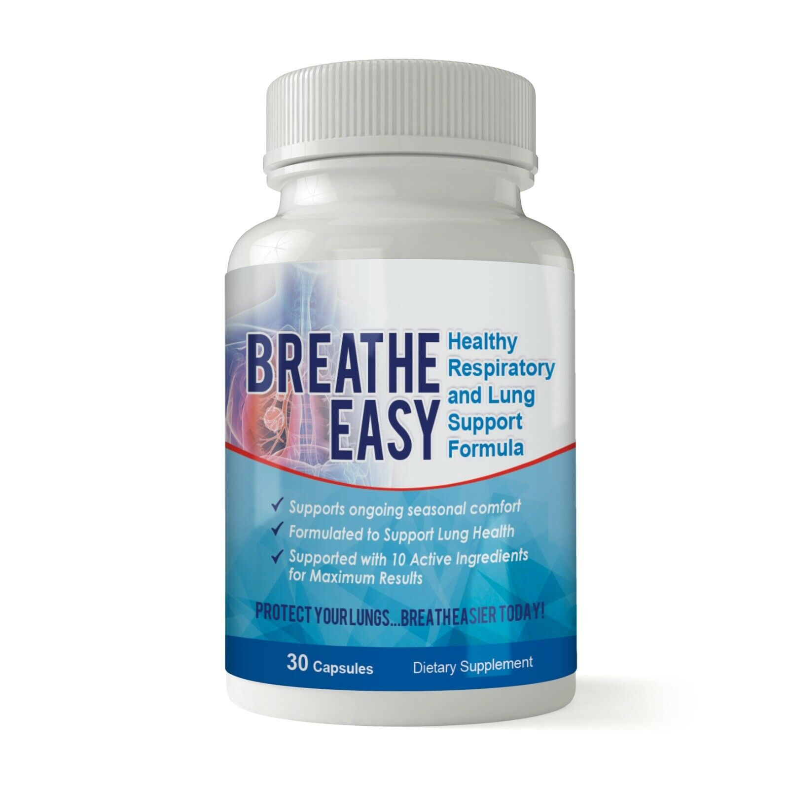 Health Respiratory System Caps Clear Lungs Dietary Pills