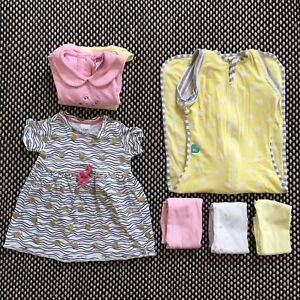 Size 0 - Girls Bundle with Love to Dream swaddle - PU Leichhardt