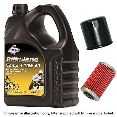 <em>VICTORY</em> <em>CROSS COUNTRY TOUR</em> 2014 SILKOLENE COMP 4 XP OIL AND FILTER KIT