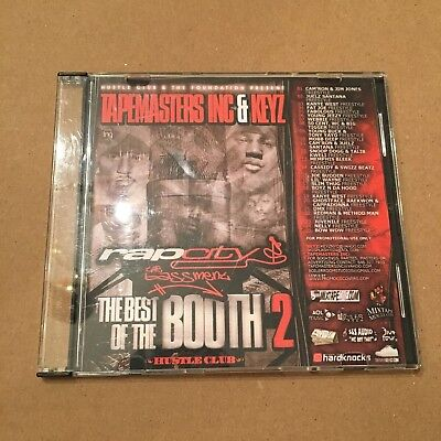 Tapemasters Inc Best Of Rap City Freestyles In The Booth  2 Hip Hop Mixtape Cd