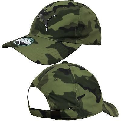 Puma Mens FL Baseball Cap Curved Peak Hat Camo 021759 04