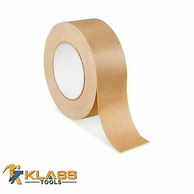 Klasstools 2 Wide Kraft Paper Packaging Tape 180 Ft 60 Yards