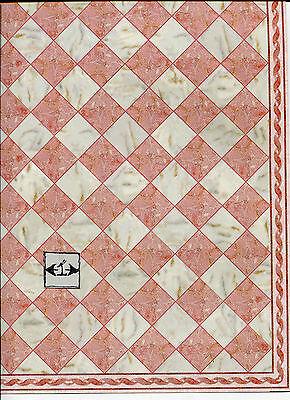 Faux Marble Flooring - Faux Marble Tile Floor Sheet  34736 dollhouse 1pc World & Model card stock