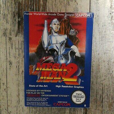 Mega man 2 Nes Repro Custom box