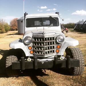 40s Willy's on F250 chassis 6.9 navastar