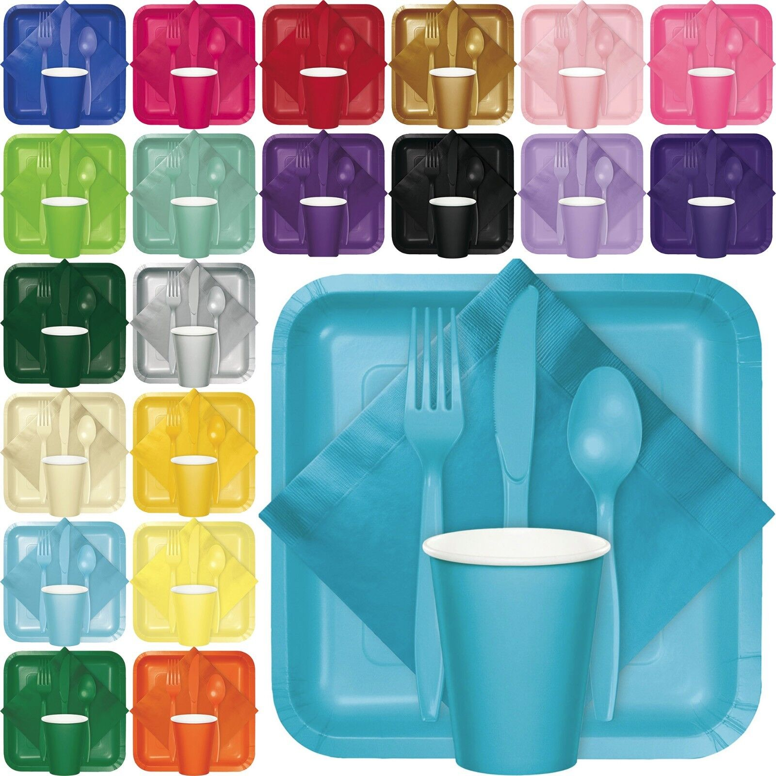 Touch of Colors Tableware Party Supplies Wedding Birthday Events Catering