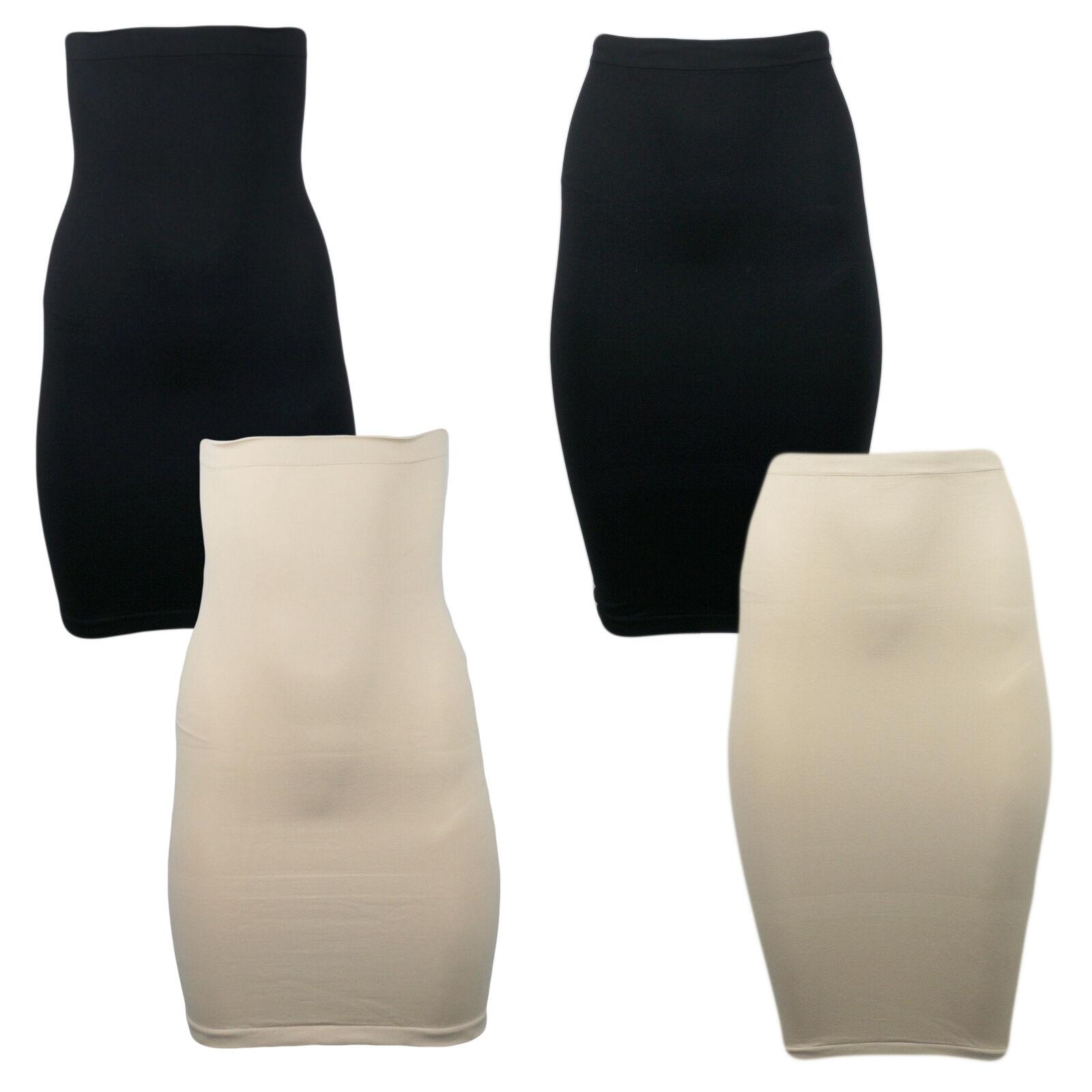2er Pack Damen Shape Rock seamless shapewear Unterrock formend unsichtbar