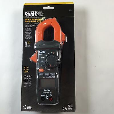 Klein Tools Cl220 Digital Clamp Meter Ac Auto-ranging 400 Amp With Temp