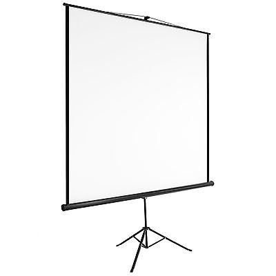 Écran de projection avec support trépied 152x152 home cinéma vidéo projecteur HD