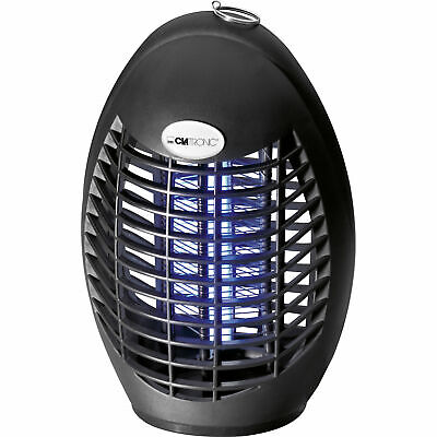 Lámpara Mata Moscas Mosquitos Insectos voladores eléctrico 1500-2000 V Clatronic