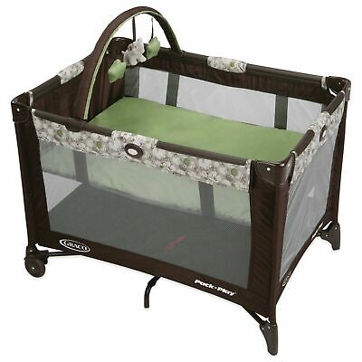 Graco Pack 'n Play On the Go Playard Stratus Zuba Infant Bassinet