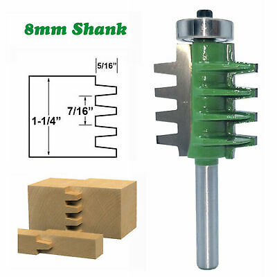 Milling Cutter Router Bit 8mm Shank Mill Woodworking Wood Cutter