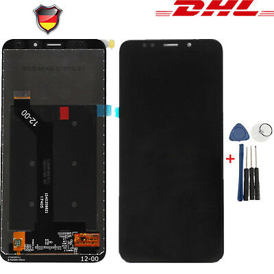 Schwarz Touch Screen Bildschirm LCD Display Assembly für Xiaomi Redmi 5Plus #DHL Touch Screen Assembly