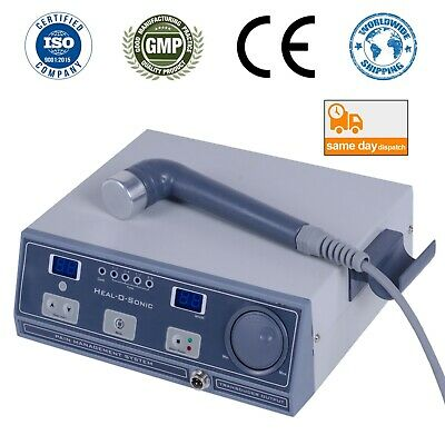 Therapeutic Ultrasound Therapy Equ Heal-o-sonic 1 Mhz Ultrasound Therapy Machine