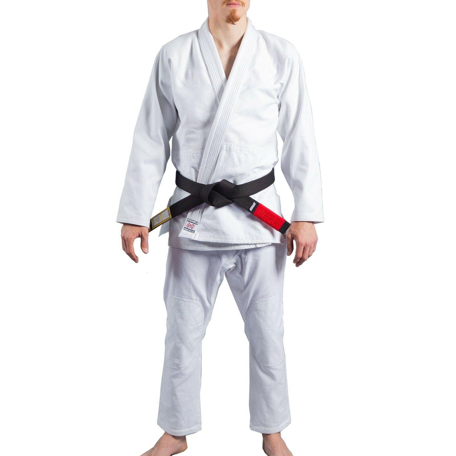 Scramble Athlete 2 White BJJ Gi Brazilian Jiu-Jitsu Gi Kimono Uniform