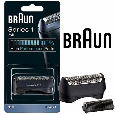Mens Braun 11B Replacement Foil & Cutter Head Blue Combi Pack 5685 Series 1 New Cutter Combi Pack