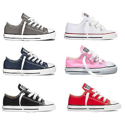 Converse Chuck Taylor All Star OX Kleinkind Chucks Babyschuhe Sneaker Turnschuhe (Converse Kleinkind Schuhe)