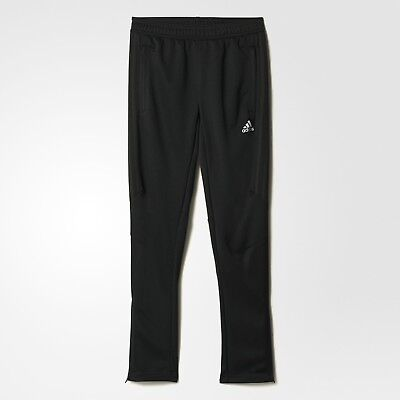 7a612aff855b ADIDAS TIRO 17 YOUTH TRAINING PANTS BLACK WITH BLACK STRIPES X-LARGE