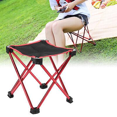 Folding Seat Stool Fishing Camping Hiking Gardening Beach Ba